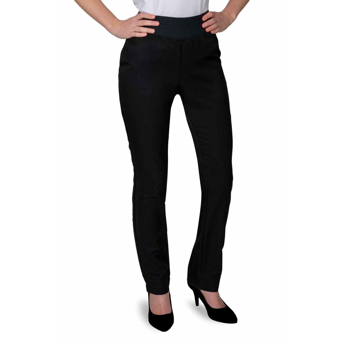 VETEMENTS - MAUD PROFESSIONAL SHOP - PANTALON PROFESSIONNEL FEMME MAUD NOIR