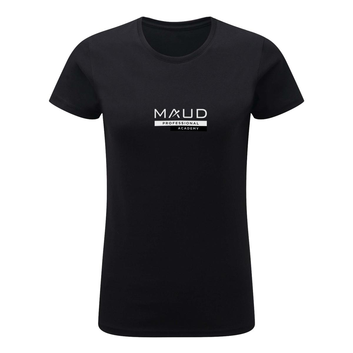 VETEMENTS - MAUD PROFESSIONAL SHOP - T-SHIRT MAUD ACADEMY FORMATRICE FEMME NOIR