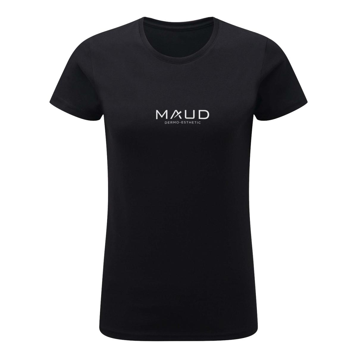 VETEMENTS - MAUD PROFESSIONAL SHOP - T-SHIRT MAUD DERMO-ESTHETIC FEMME NOIR