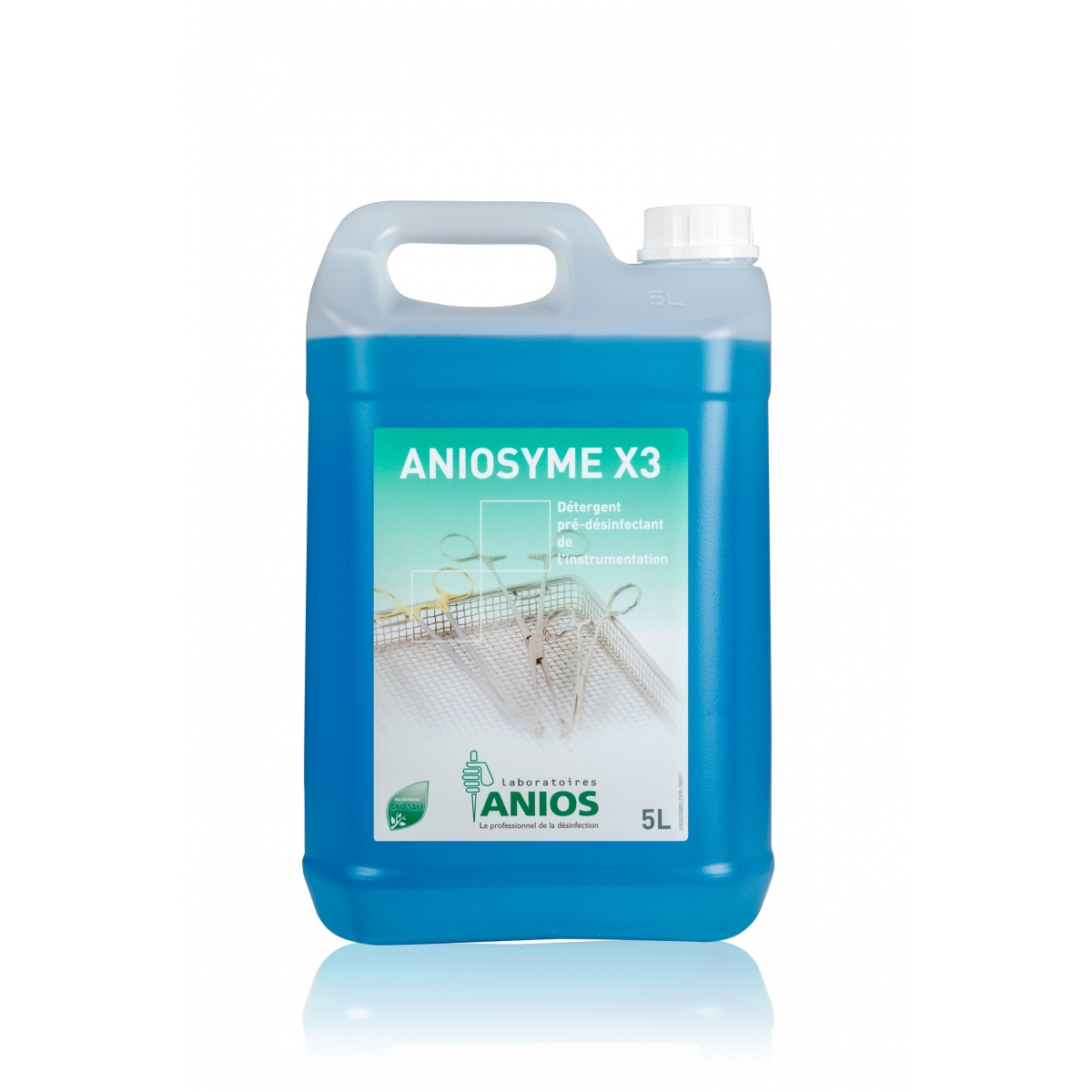 HYGIENE - DETERGENT PRE DESINFECTANT ANIOSYME X3 ANIOS