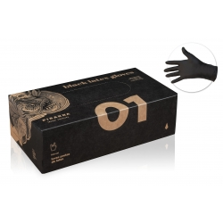 Gants & Masques -  - GANTS LATEX LARGE, NOIR