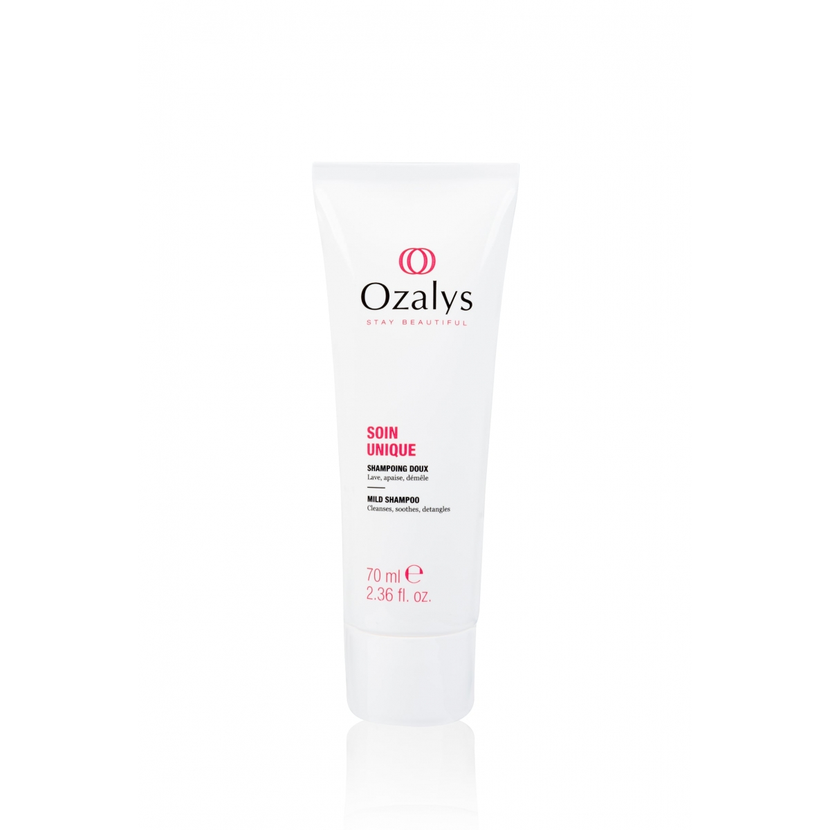 SOINS CANCER - SHAMPOING CHEVEUX DOUX SOIN UNIQUE OZALYS