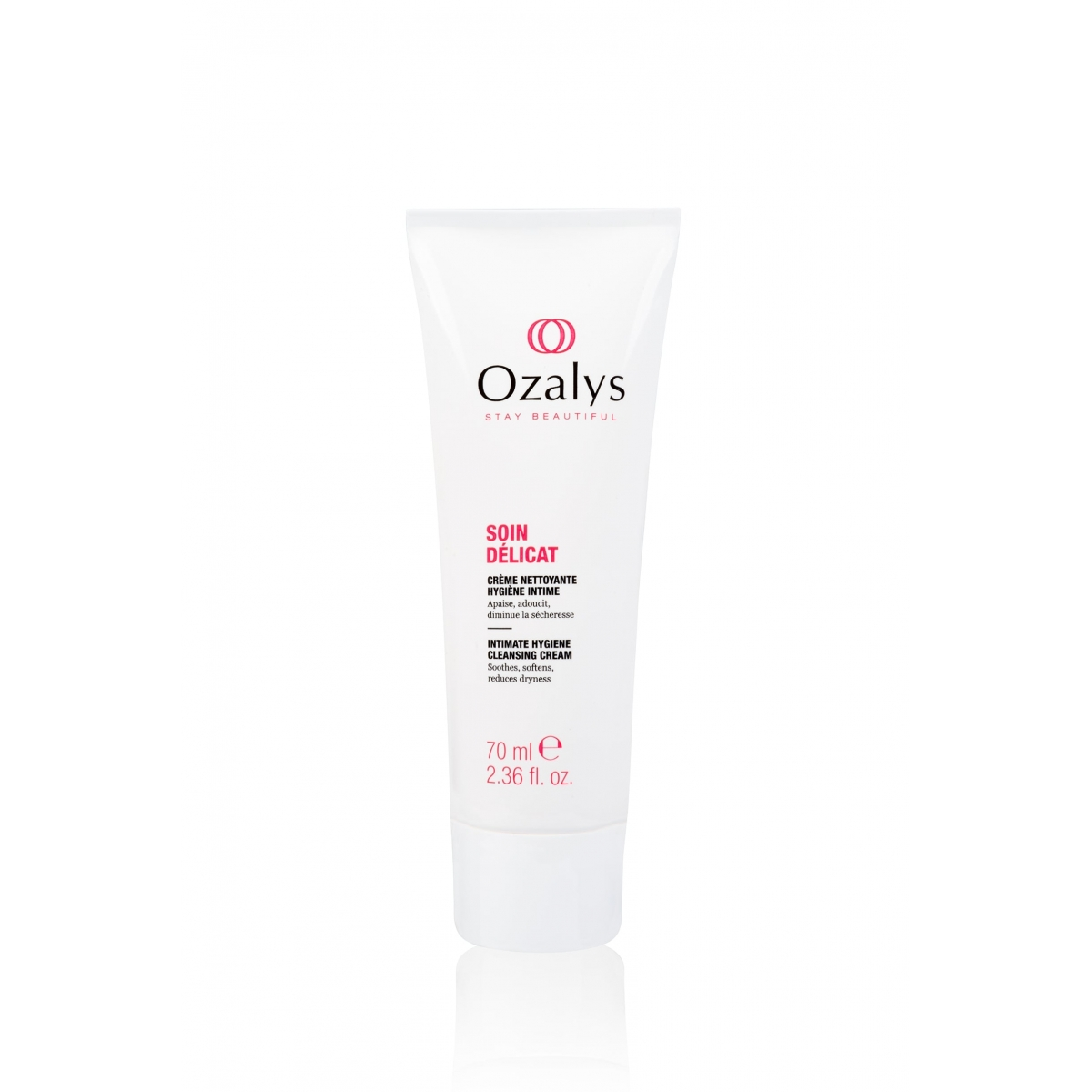 SOINS CANCER - CREME NETTOYANTE HYGIENE INTIME SOIN DELICAT OZALYS