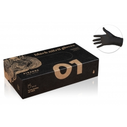 Gants & Masques -  - GANTS NITRILES MEDIUM, NOIR