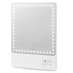 EQUIPEMENTS - GLAM LAMP - MIROIR A LED CONNECTE BLUETOOTH RIKI SKINNY