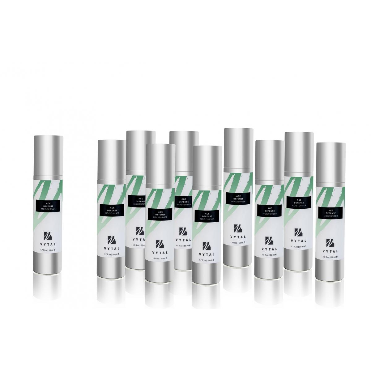 AGE DEFENCE MOISTURISER (50 ml) (x10)