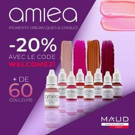 PLUS DE 60 COULEURS EN PROMOTION!!! 😍  Nous vous accompagnons durant ce confinement en vous faisant profiter de remises exceptionnelles ! Optez pour des pigments de qualité avec la marque Amiea et profitez de -20% sur plus de 60 couleurs avec le code ✨ WELCOME21 ✨!   L'offre étant limitée, ne loupez pas l'occasion de vous équiper avec des pigments de qualité! 💜  Retrouvez tous nos produits en suivant ce lien: ℹ️ www.maud-shop.com  📍 28 avenue d'Iéna, 75016 Paris ☎️ 01.47.04.88.88!  #maudacademy #academy #mauddermoesthetic #formation #trainer #formationmaquillage#formationprofessionnelle #formationmaquillagepermanent #makeuptraining #professionalmakeup #professionaltraining #permanentmakeup #maquillagepermanent #makeupartist #pmua #pmuartist #pmutraining #beauty #beauté #france #dermoesthetic