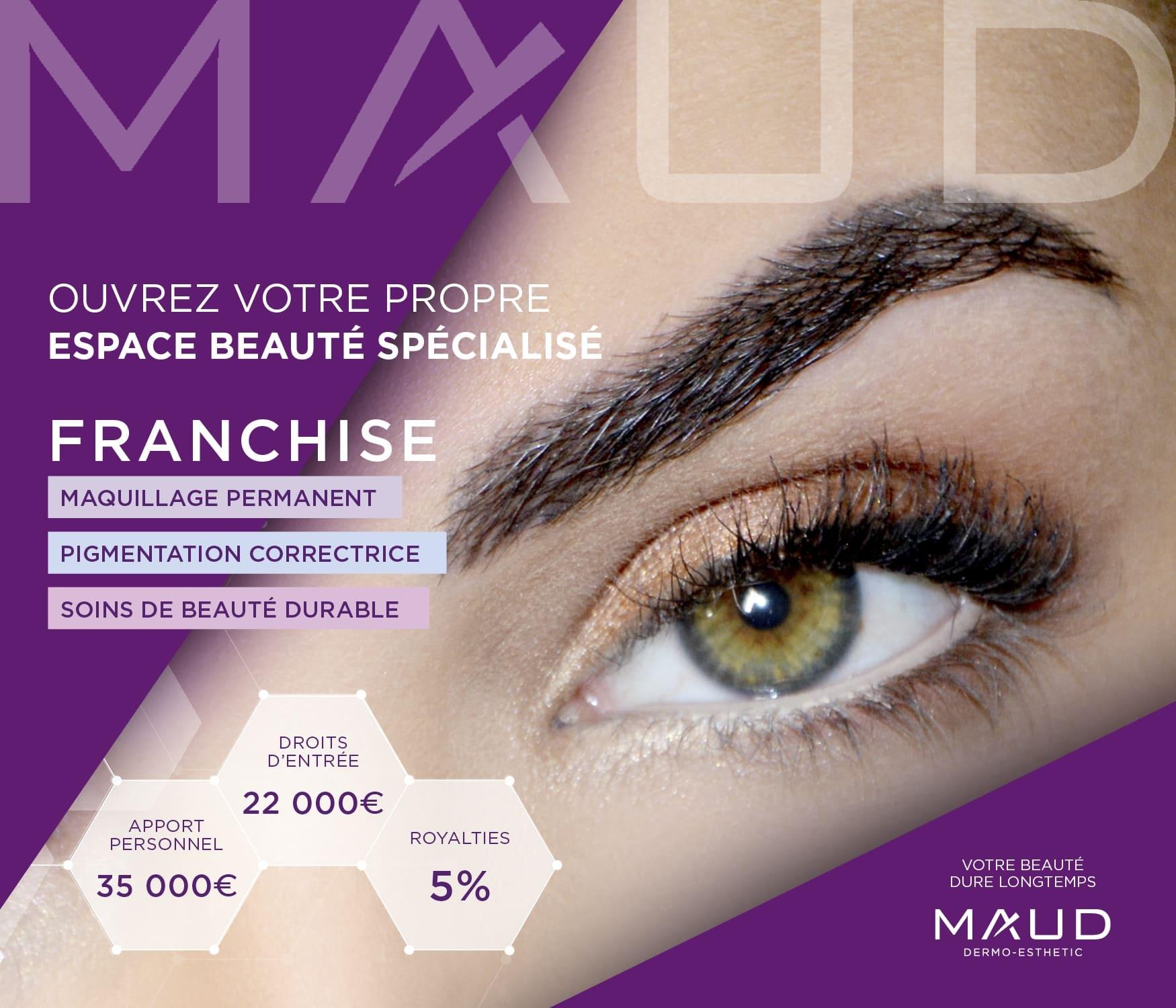 Ouvrez votre franchise - Maud Shop
